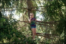 Ava In A Tree #1