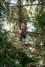Ava In A Tree #2